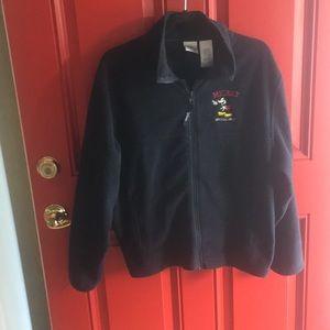 Disney Navy Fleece Jacket